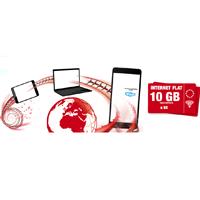 Сим карта OrtelMobile тариф Internet Flat 10 GB в Европе.
