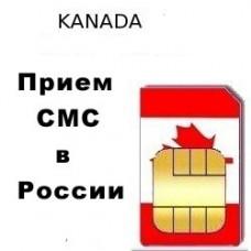 Канадский номер для приема СМС