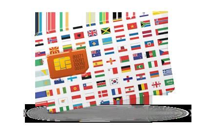 Сим карты для поездок в конкретную страну пребывания.